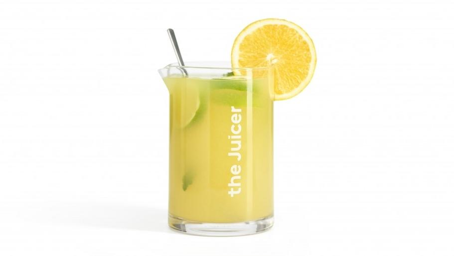 de Juicer recept sinaasappel en citroen limonade
