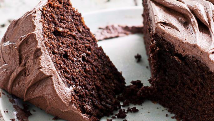 Verslavend lekkere chocoladetaart