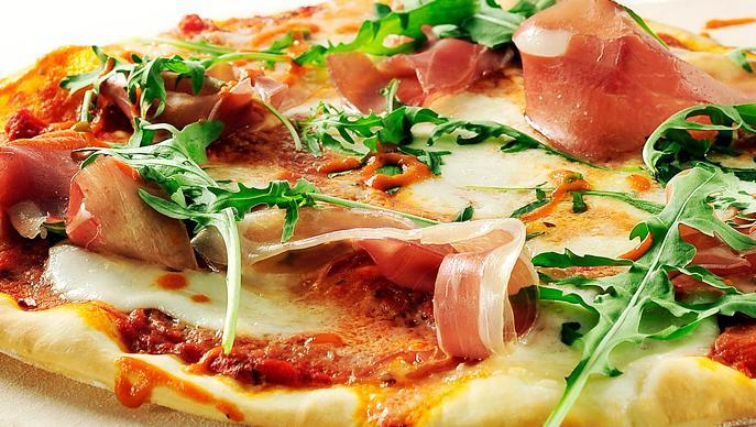 Pizza met geitenkaas