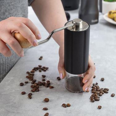 Dualit handzame koffiebonenmolen eenvoudig in gebruik