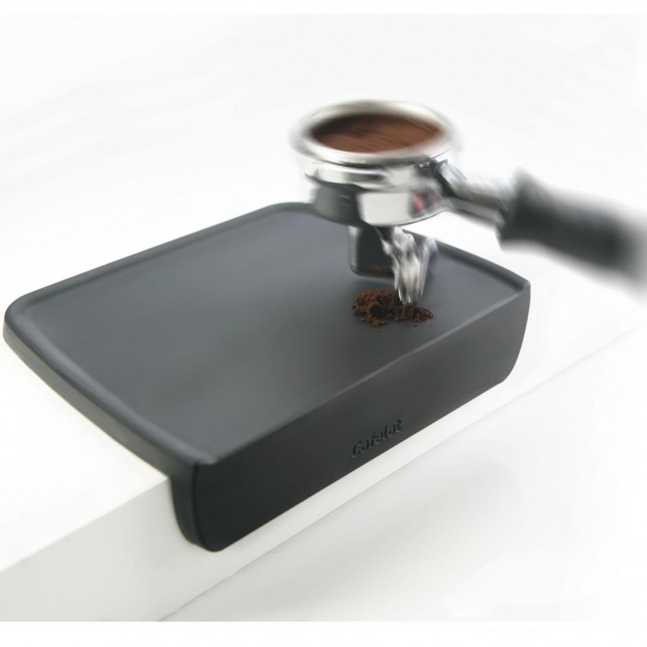 Cafelat tamping mat hoek