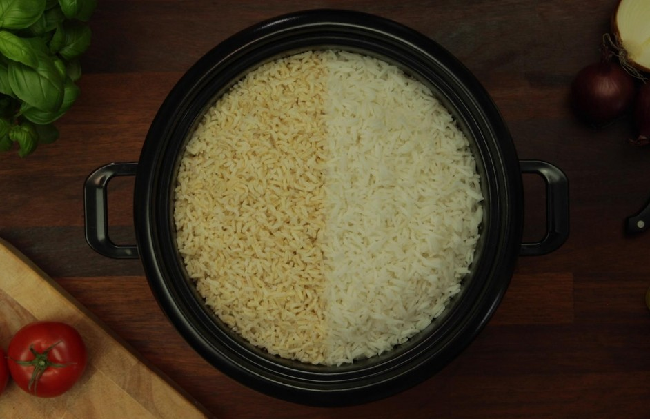 Bereid in een handomdraai witte of bruine rijst