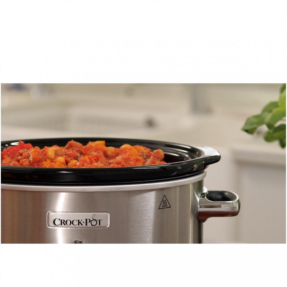 Crock-Pot Slowcooker 3,5L RVS (CR028)