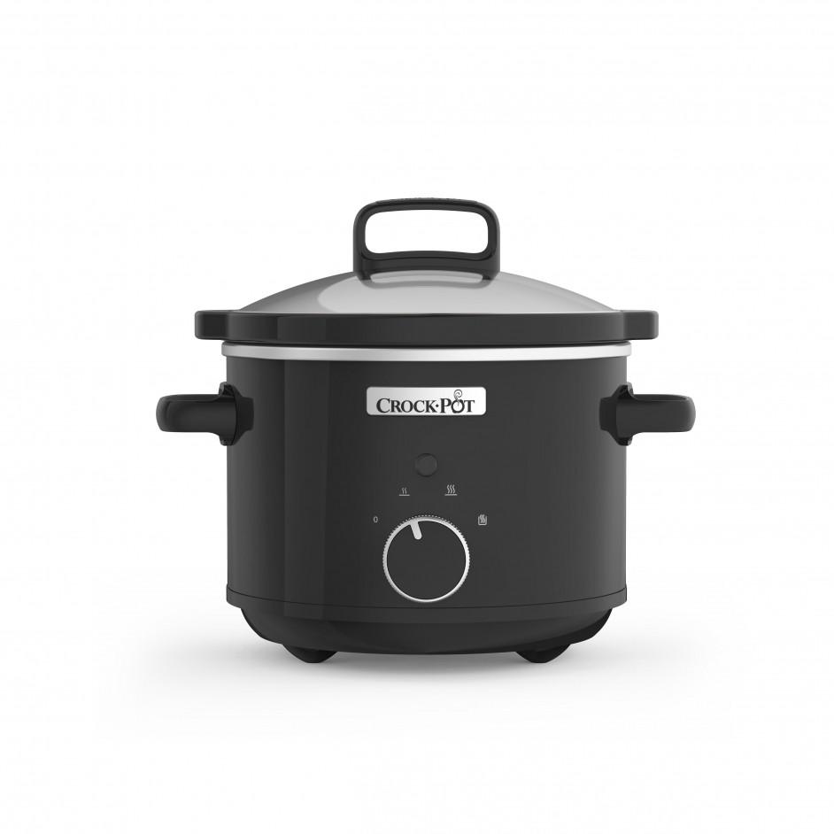 Crock-Pot Slow Cooker 2,4L Black