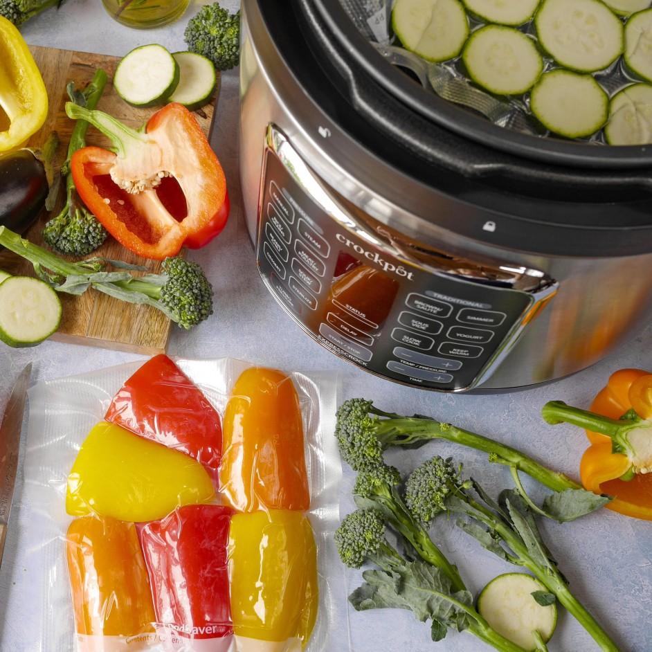 CR062 met groente sous vide