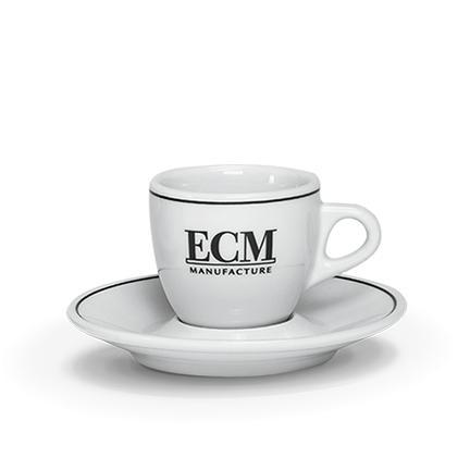 ECM espressokop en schotel