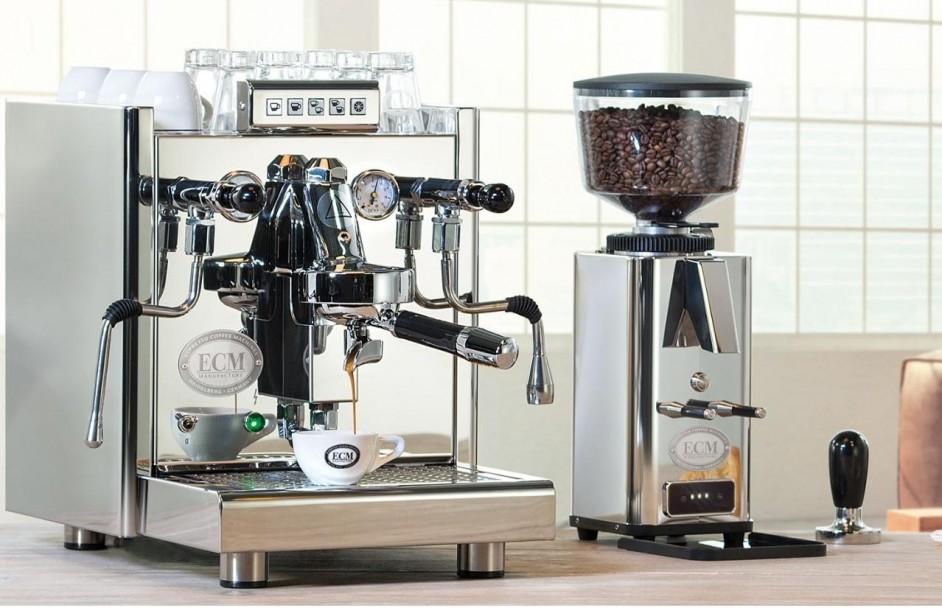 Koffiezetten en schuimen tegelijk Elektronika II Profi