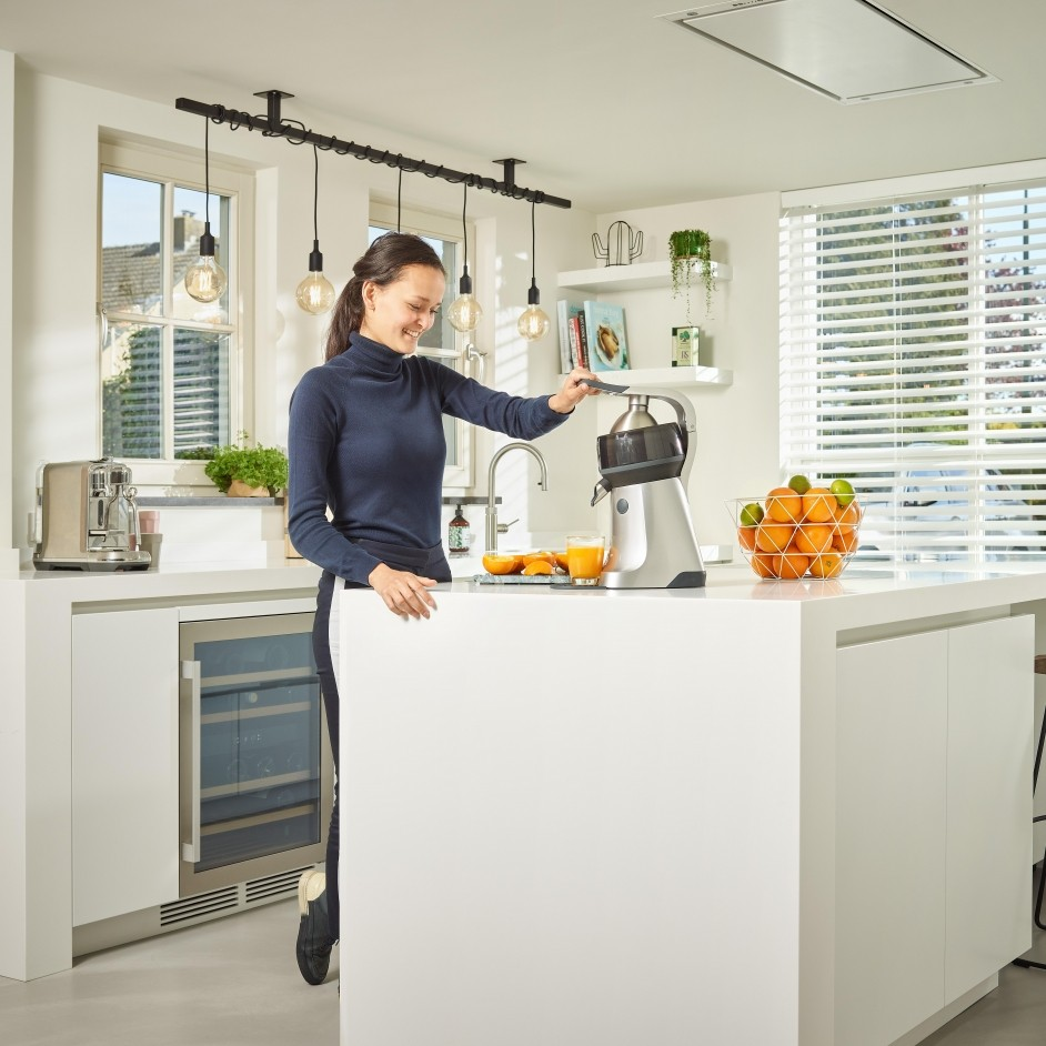 the Juicer kitchen at home