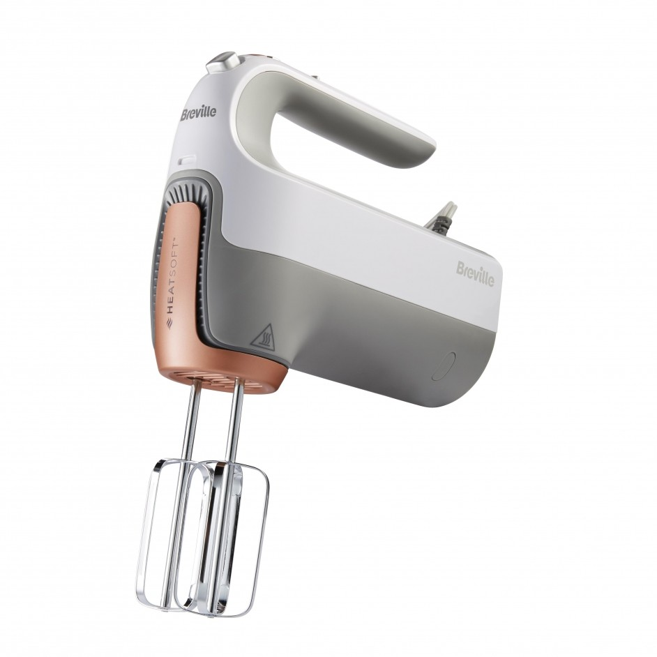 Breville Handmixer met HeatSoft technology