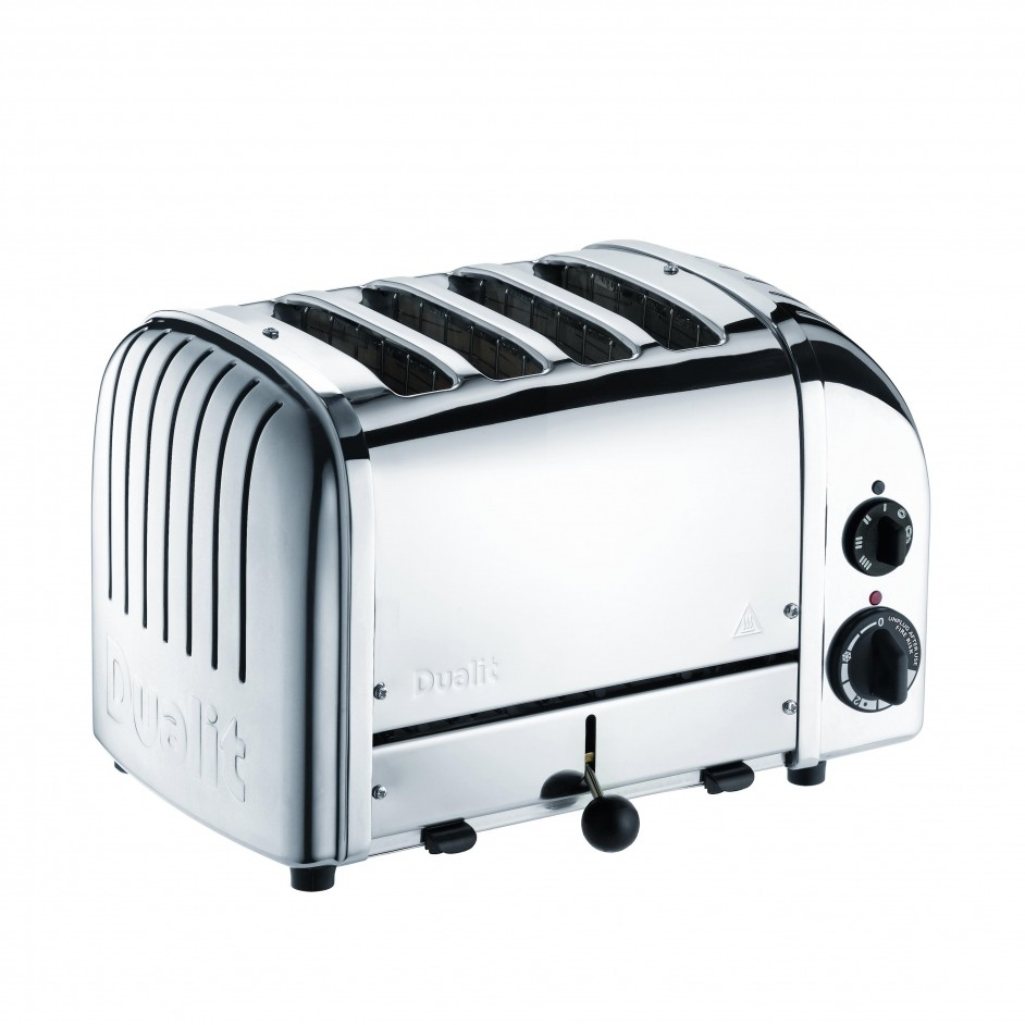4 slots toaster