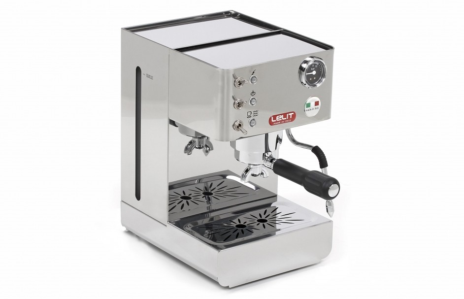 Voor ieder wat wils Anna RVS Espressomachine