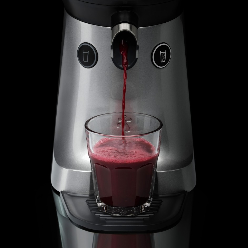 the Juicer robuuste citruspers pomegranate
