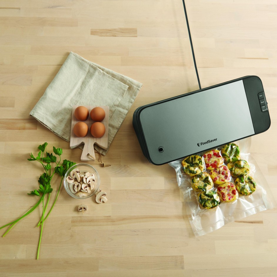 Foodsaver FSV2190 in gebruik