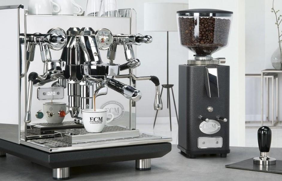 Zeer uitgebreid ECM Synchronika Espressomachine