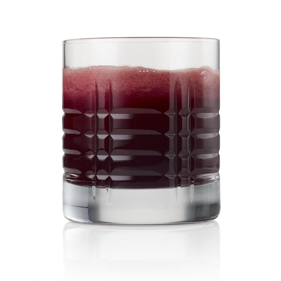 Pomegranatie juice on white