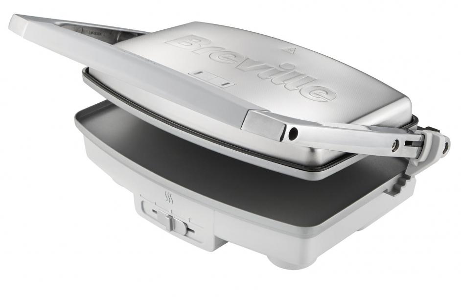 Hoogwaardig materiaal VST071 DuraCeramic Sandwich / Panini maker