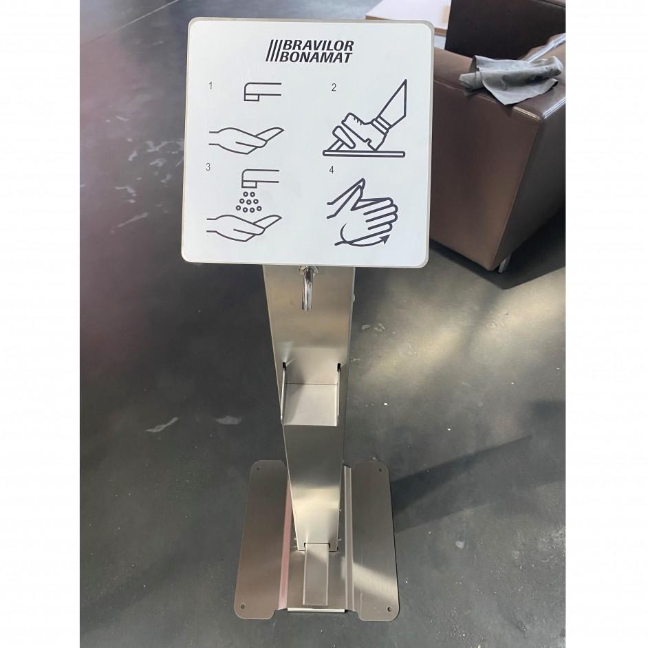 Espressions RVS hygiënezuil met voetpedaalbediening