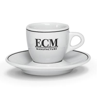 ECM Cappuccino kop en schotel (set van 6 stuks)