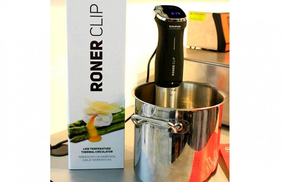 Gegarandeerd dezelfde watertemperatuur in de gehele pan! RO917000 Roner Clip Sous Vide Stick